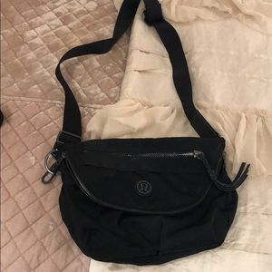 Lulu crossbody black bag